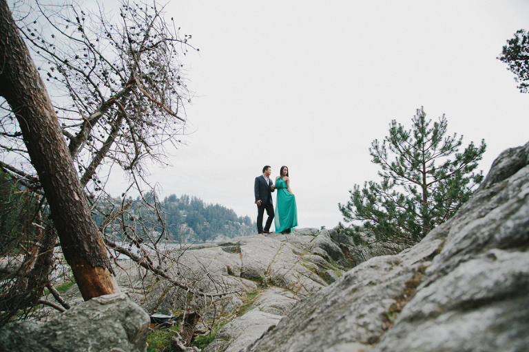 Bee and Ron\'s Engagement Shoot at Whytecliff Park | Ophelia ...